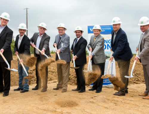 Hospital breaks ground in Argyle